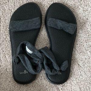 RARE Sanuk Yoga Mat Duet Sandals